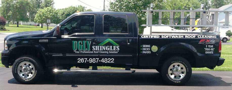 Ugly Shingles Service Truck