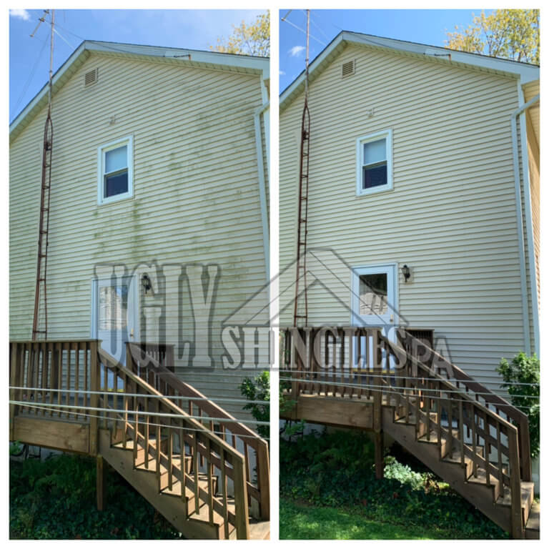 ugly shingles pa siding cleaning