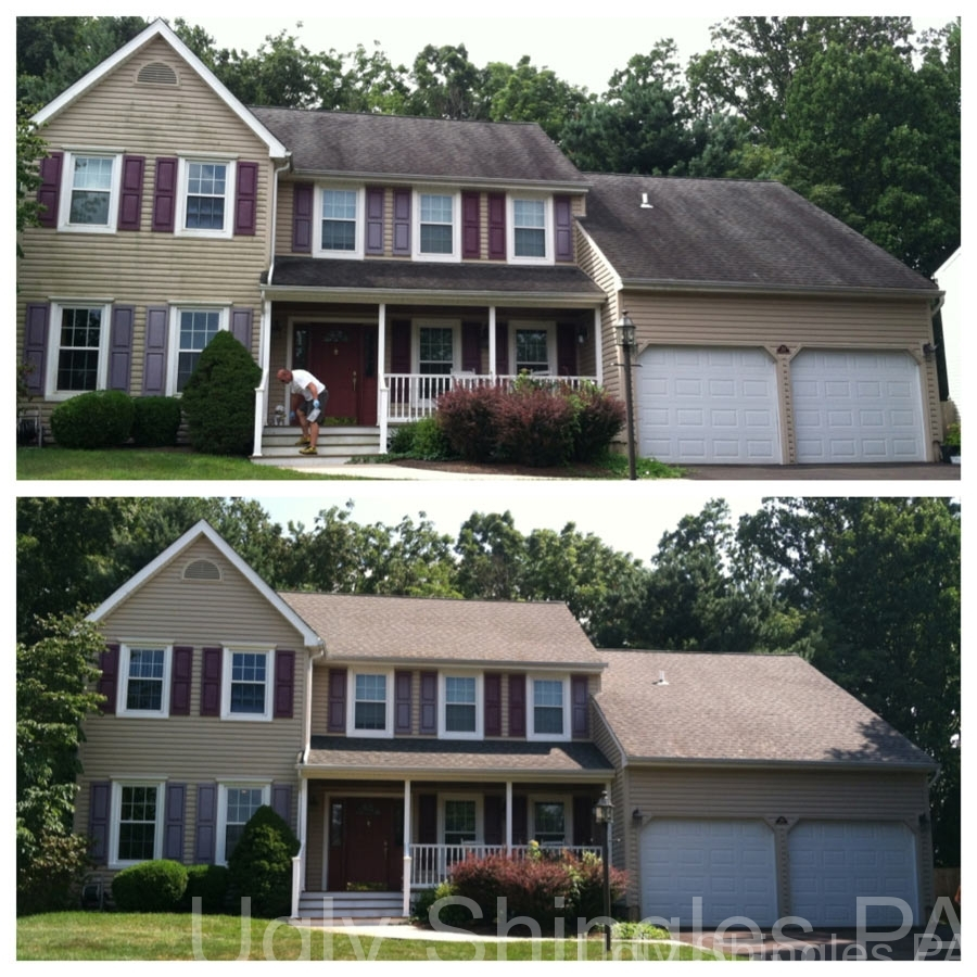 Property Cleaning Bucks County Soft Wash Cleaning